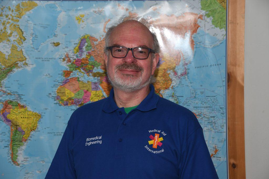 Medical Aid International Tony Royston